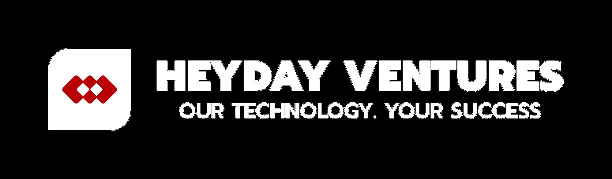 Heyday Ventures Logo White